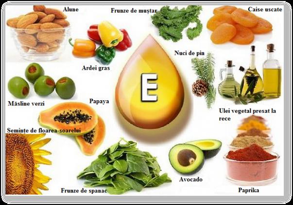 pentru vitaminele vizuale din alimente)